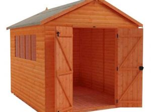 HD Loglap Apex Workshop Shed