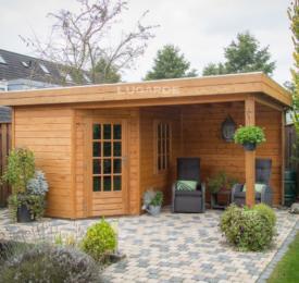 Prima Rose Premium Cabin with Canopy
