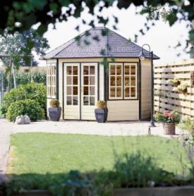 Premium Sebia Oval Summer House