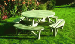 Elite Round Picnic Table